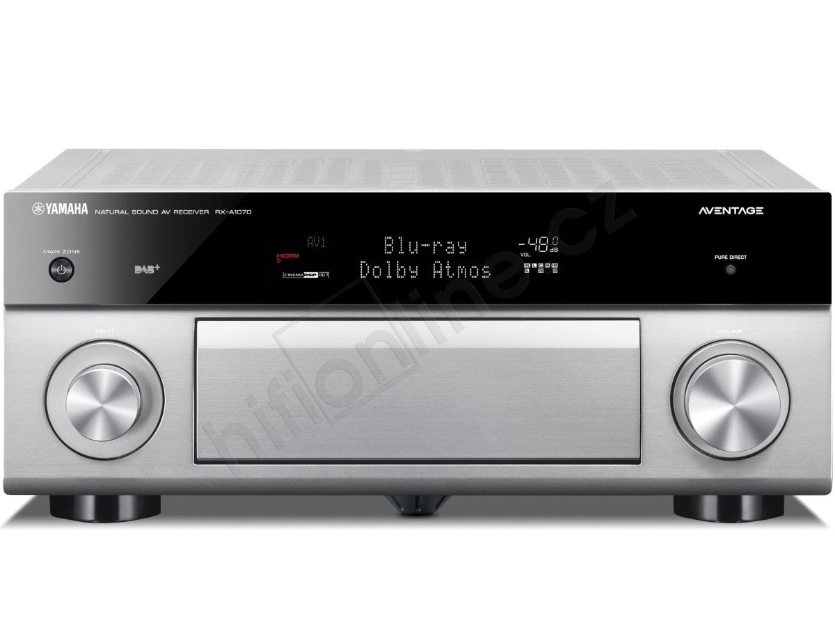 av receiver yamaha rx a1070 7 2 kan lov av receiver s. Black Bedroom Furniture Sets. Home Design Ideas