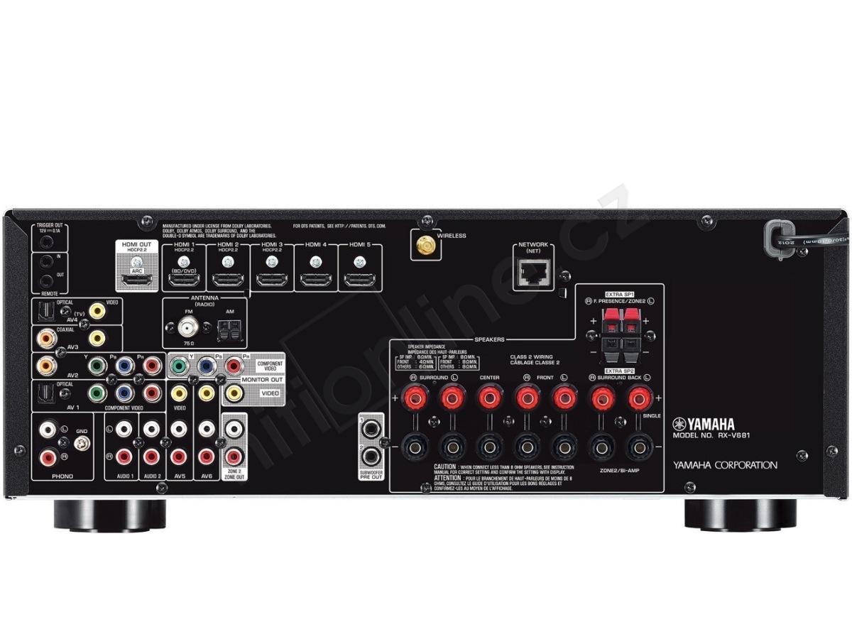 Yamaha Reciever Remote