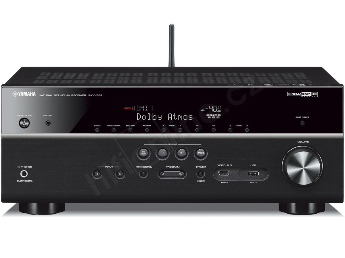 av receiver yamaha rx v681 7 2 kan lov av receiever s. Black Bedroom Furniture Sets. Home Design Ideas