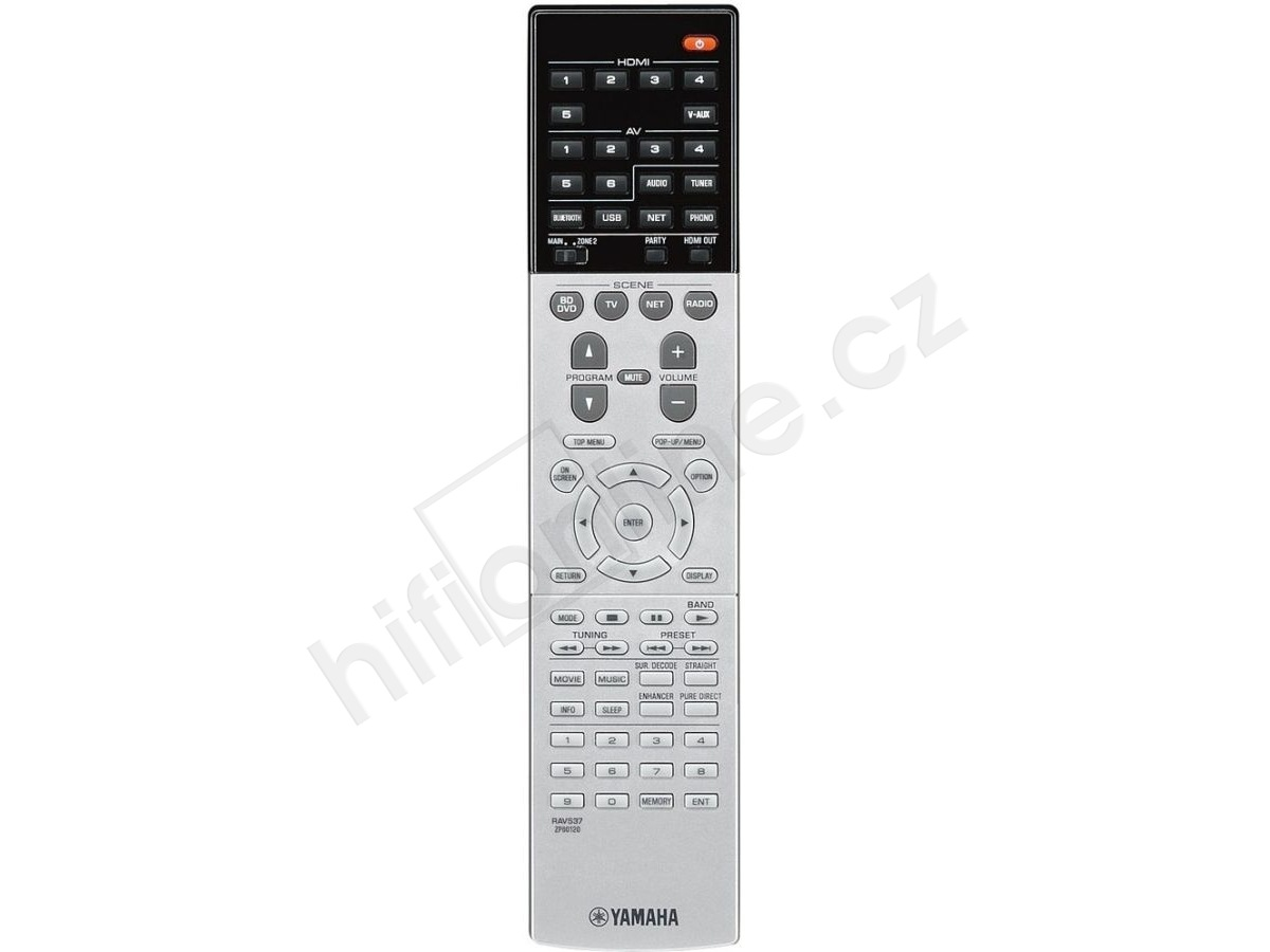 Yamaha Rx A Remote