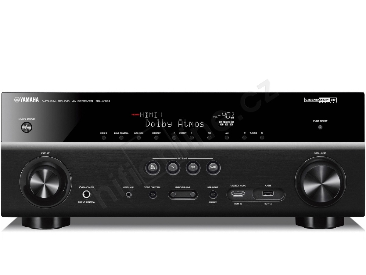 av receiver yamaha rx v781 7 2 kan lov av receiever s. Black Bedroom Furniture Sets. Home Design Ideas
