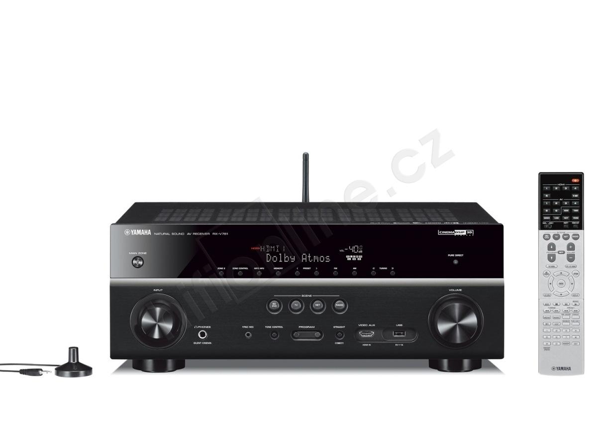 Av receiver yamaha rx v781 7 2 kan lov av receiever s for Yamaha av receivers