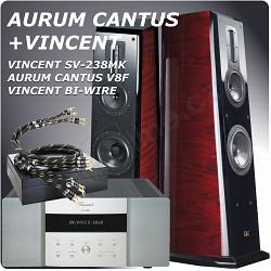 VINCENT + AURUM CANTUS V8F