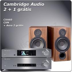 CAMBRIDGE CXA60 + CXN + AERO 2
