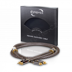DYNAVOX BLACK LINE - CINCH KABEL 0,6m