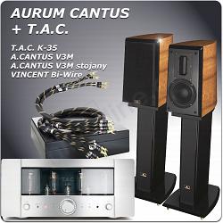 TAC K35 + AURUM CANTUS V3M