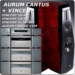VINCENT + AURUM CANTUS V10F