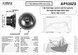 REPRODUKTOR - AUDAX AP130Z0 - datasheet