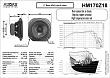 REPRODUKTOR - AUDAX HM170Z18 - datasheet