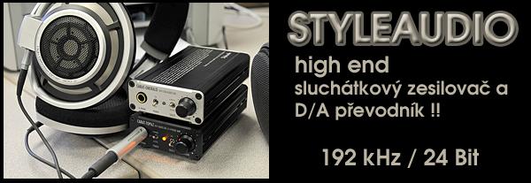 STYLEAUDIO - D/A převodníky se sluchátkovým zesilovačem